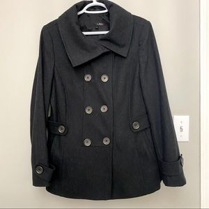 Utex Wool Double Breasted Coat